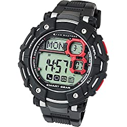 [Lad Weather] Smart Watch for iphone and Android / Digital smart watch for Men Sports Running watch