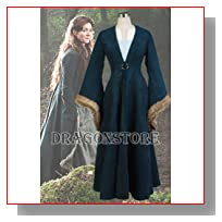 Game of Thrones Catelyn Stark Cosplay Costume Female L