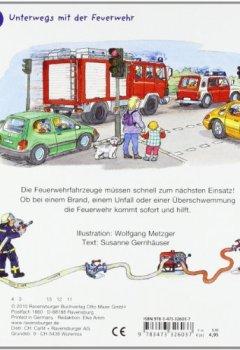 Buchdeckel von Alarm bei der Feuerwehr