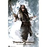 Pirates of the Caribbean 4 On Stranger Tides Movie Poster Johnny Depp As Jack Sparrow 22x34 Print College Poster Print, 22x34