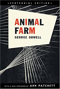 "Cover of ""Animal Farm: Centennial Edition..."