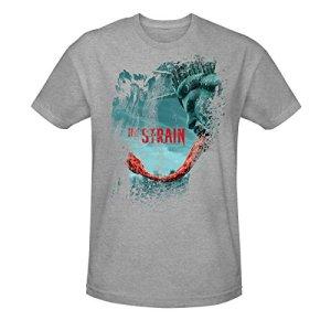 The-Strain-Mens-Season-3-T-Shirt-Heather-Grey-XL