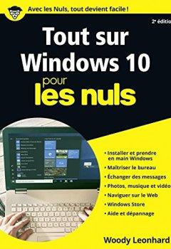Livres Couvertures de Tout sur Windows 10 Pour les Nuls