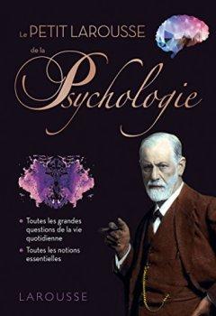 Livres Couvertures de PETIT LAROUSSE DE LA PSYCHOLOGIE
