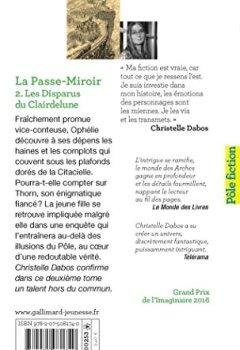 La Passe Miroir Tome 3 Ebook Gratuit : passe, miroir, ebook, gratuit, Passe-miroir, (Tome, 2-Les, Disparus, Clairdelune), Christelle, Dabos, Contrastlivre.ga, Ebooks