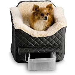Snoozer Lookout II Pet Car Seat, Medium II, Black