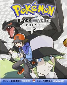 Pokemon Black and White Box Set 2: Includes Volumes 9-14 by Hidenori Kusaka| wearewordnerds.com