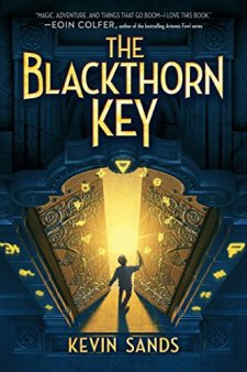 The Blackthorn Key by Kevin Sands| wearewordnerds.com