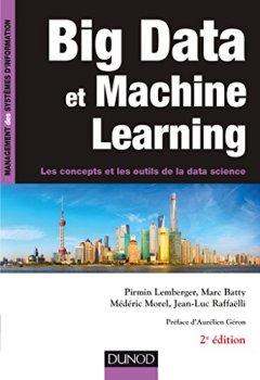 Livres Couvertures de Big Data et Machine Learning - 2e éd. - Les concepts et les outils de la data science