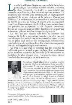 Livres Couvertures de Ehlers-Danlos: La maladie oubliée par la médecine