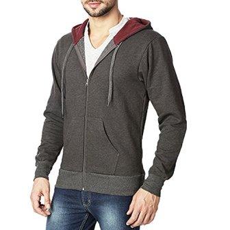 Rodid Full Sleeve Solid Men's Sweatshirt (B-HWSSWTZ-CM-S)