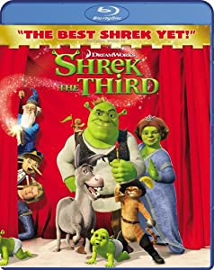 "Cover of ""Shrek the Third [Blu-ray]"""