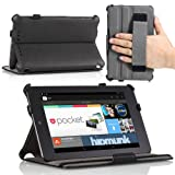 MoKo Slim-fit Case for Google Nexus 7 Android Tablet (Black)