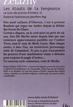 Livres Couvertures de Le Cycle des Princes d'Ambre, tome VI : Les Atouts de la vengeance