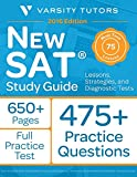 New SAT Prep Study Guide: Lessons, Strategies, and Diagnostic Tests