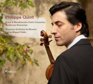 Bruch & Mendelssohn: Violin Concertos / Beethoven: Romances, Philippe Quint