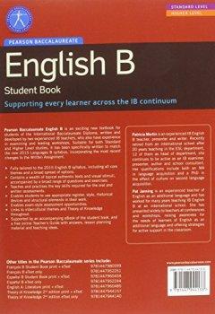 Portada del libro dePearson Baccalaureate English B print and ebook bundle for the IB Diploma (Pearson International Baccalaureate Diploma: International Editions)