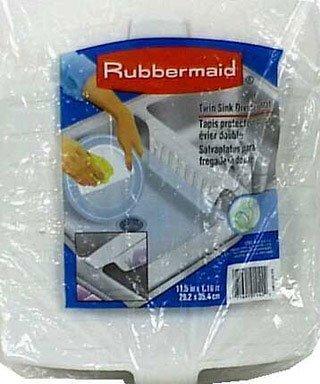 deals for rubbermaid sink divider mat 1297arwht 11 5 x 13 9 top dish racks