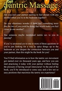Livres Couvertures de Tantric Massage For Beginners: Discover The Best Essential Tantric Massage And Tantric Love Making Techniques!
