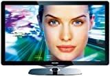 Philips 40PFL8605K/02 102 cm (40 Zoll) LED-Backlight-Fernseher (Full-HD, 200Hz, 3D ready, Ambilight Spectra 2, DVB-T/-C/-S) Glas-Frontrahmen