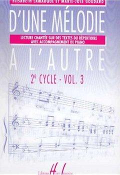Livres Couvertures de D'une mélodie à l'autre Volume 3