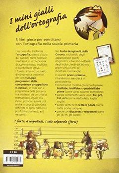 Copertina del libro di L'ispettore Ortografoni e il furto dei gioielli della Corona. I mini gialli dell'ortografia. Con adesivi: 1