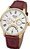 Ruhla Gardé Germany Elegance 10311 Armbanduhr für Ihn Goldenes Gehäuse