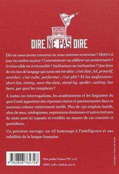 Livres Couvertures de Dire, ne pas dire : Du bon usage de la langue française, volume 2