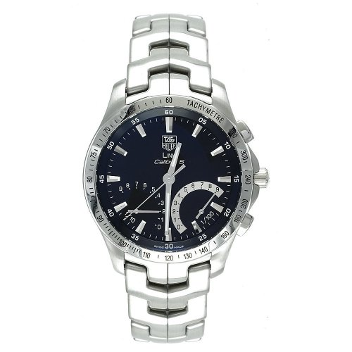 TAG Heuer Men's CJF7110.BA0587 Link Calibre S Chronograph Watch