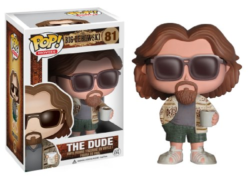 Funko POP Movies The Big Lebowski The Dude Vinyl Figure, Mr. Media Interviews