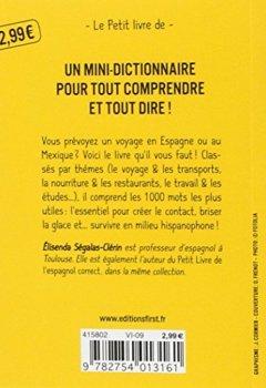 Livres Couvertures de Petit livre de - Les 1 000 mots indispensables espagnol