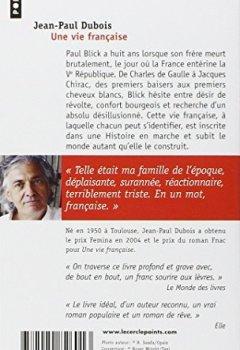 Livres Couvertures de Une vie française - Prix Femina 2004