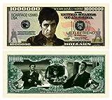 Al Pacino Scarface $ Million Dollar$  Novelty Bill Collectible