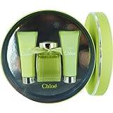 Chloe L'eau de Chloe for Women 3 Piece Set Includes: 3.4 oz Eau de Toilette Spray + 2.5 oz Perfumed Body Lotion + 2.5 oz Perfumed Shower Gel