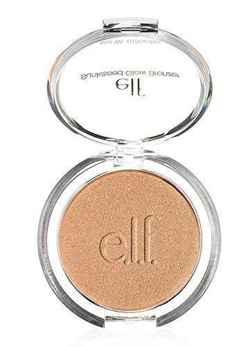 e.l.f. Sunkissed Glow Bronzer, Sun Kissed, 0.18 Ounce