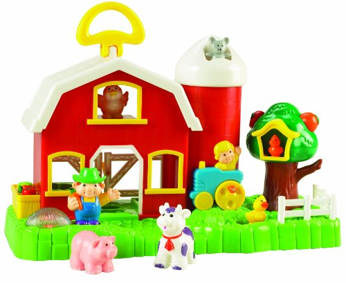 Small World Toys Preschool - Big Fun Activity Barn B/O