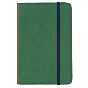 "M-Edge Trip Kindle Jacket, Green w/ Navy Blue (Fits 6"" Display, Latest Generation Kindle)"