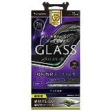 Simplism iPhone7 Plus フィルム [FLEX 3D] 立体成型フレームゴリラガラスフィルム ブラック TR-GLIP165-GOF3CCBK