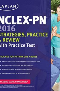 NCLEX-PN 2016 Strategies, Practice and Review with Practice Test (Kaplan Test Prep)