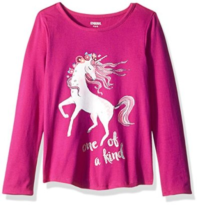 Gymboree-Girls-Big-Girls-Animal-Graphic-Tee-Unicorn-S