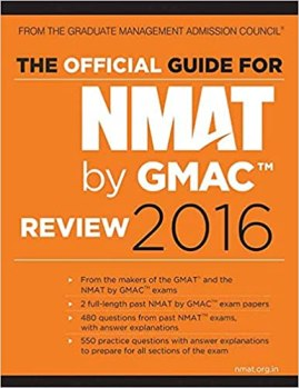 The Official Guide for NMAT by GMAC Review 2016 Paperback – 15 Jun 2016