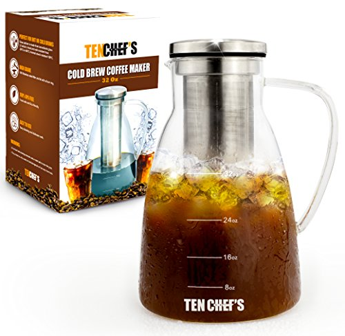 Cold Brew Coffee Maker And /Hyper Iced Infuser