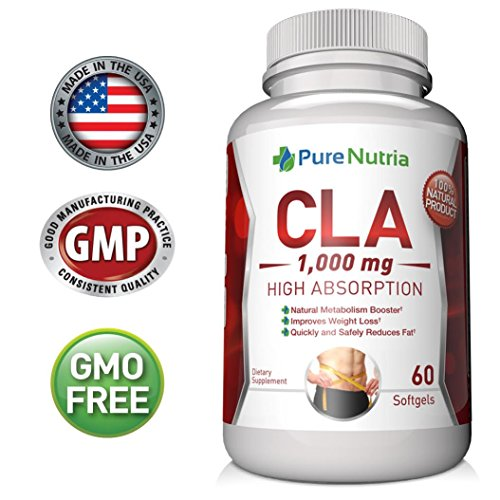 Best CLA Supplement Superior Fat Burner and Weight Loss Pills for Women - Conjugated Linoleic Acid Softgels - Build Lean Muscle and Burn Belly Fat Fast