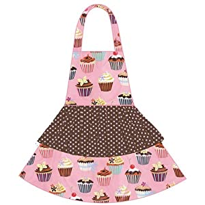 asd Living Jessica Apron with Cupcakes Design