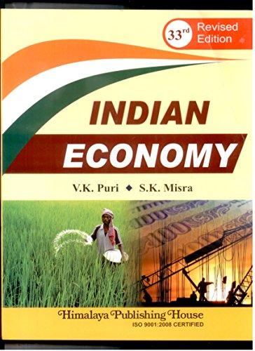 indian economy: mishra puri
