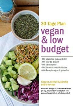 Buchdeckel von Vegan & Low Budget: Günstig, schnell und einfach vegan kochen (Smart cooking 2)