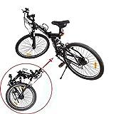 Ridgeyard 26 Inch Suspension fork Foldable 7 Speed Mountain Bike Folding Bicycle MTB Sport V-brack