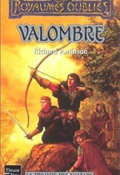 Livres Couvertures de La Trilogie Des Avatars, Tome 1 : Valombre