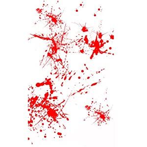 Blood Spatter Dexter apple ipod skin vinyl decal sticker at amazon