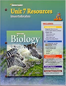Glencoe Biology Unit 7 Resources Invertebrates Glencoe